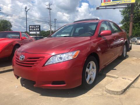 2009 Toyota Camry for sale at Wolff Auto Sales in Clarksville TN