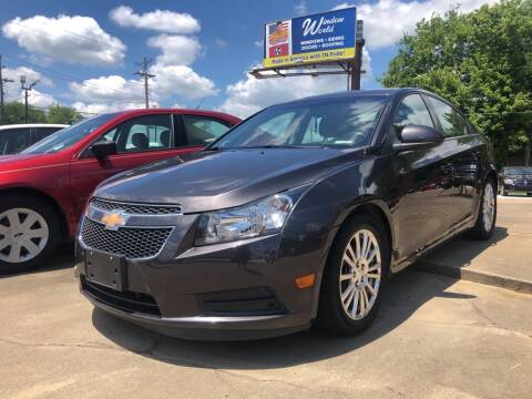 2014 Chevrolet Cruze for sale at Wolff Auto Sales in Clarksville TN