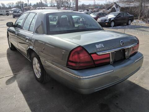 2005 Mercury Grand Marquis for sale at Wolff Auto Sales in Clarksville TN