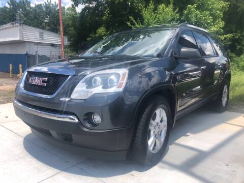 2011 GMC Acadia for sale at Wolff Auto Sales in Clarksville TN