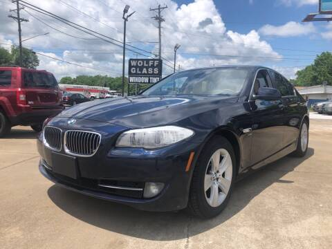 2012 BMW 5 Series for sale at Wolff Auto Sales in Clarksville TN