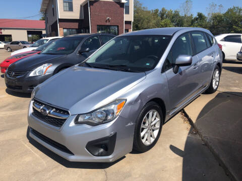 2014 Subaru Impreza for sale at Wolff Auto Sales in Clarksville TN