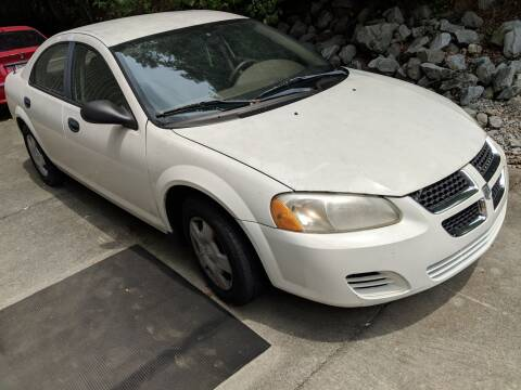2003 Dodge Stratus for sale at Wolff Auto Sales in Clarksville TN
