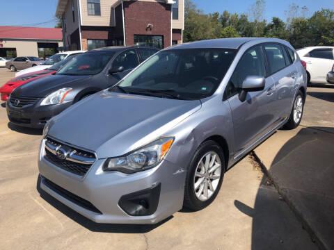 2014 Subaru Impreza for sale at Wolff Auto Sales in Clarksville TN