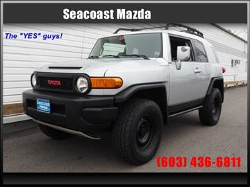 2007 Toyota FJ Cruiser for sale in Portsmouth, NH
