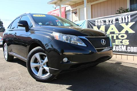 2011 Lexus RX 350 for sale in Santa Maria, CA