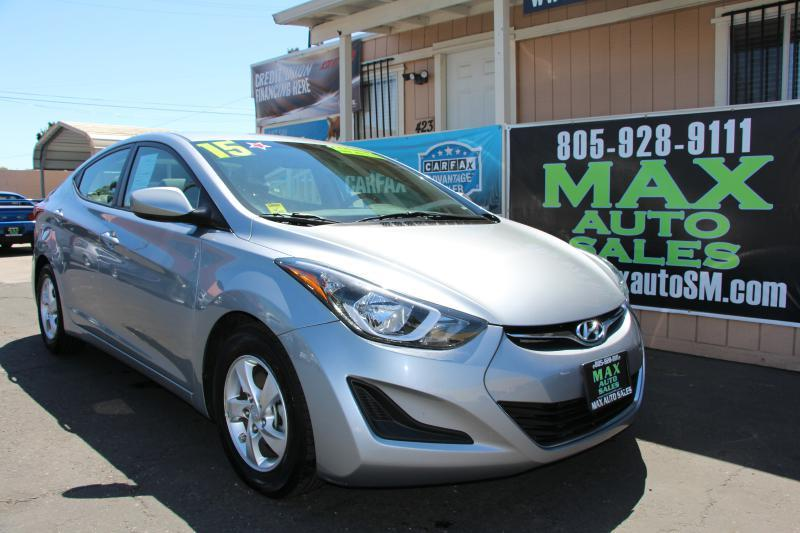 2015 Hyundai Elantra For Sale At Max Auto Sales In Santa Maria CA