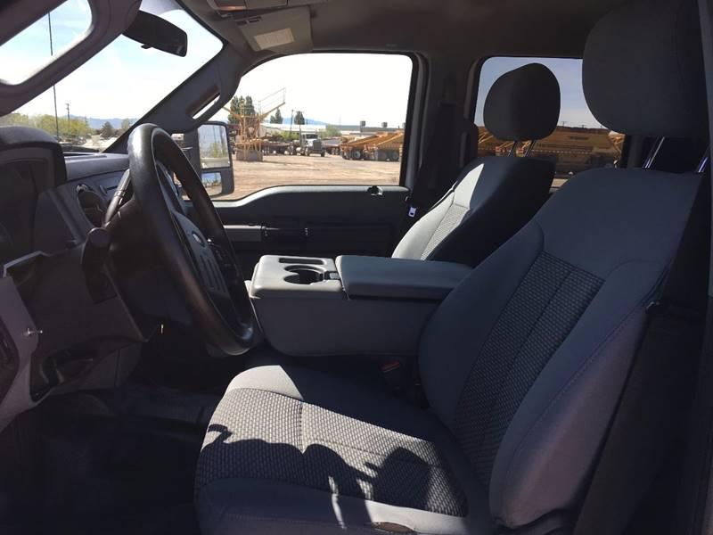 2014 Ford F-450 Super Duty 4x4 XLT 4dr Crew Cab 8 ft. LB DRW Pickup - Woods Cross UT