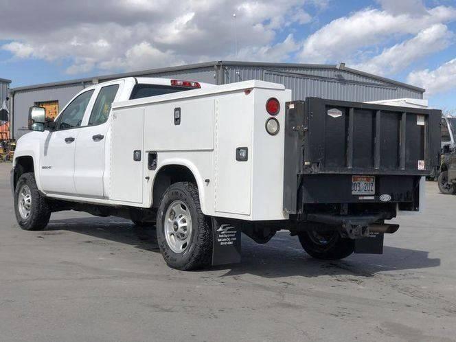 2016 Chevrolet Silverado 2500HD 4x4 Work Truck 4dr Double Cab LB - Woods Cross UT