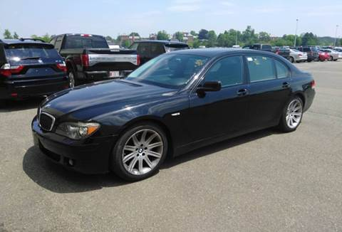 Used 2006 Bmw 7 Series For Sale In Ashaway Ri Carsforsale