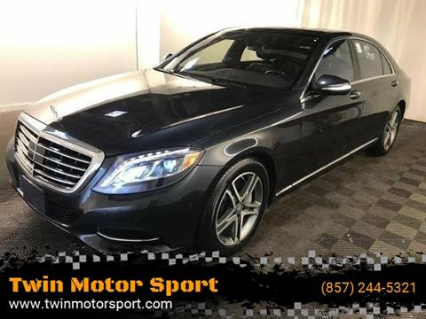 2016 Mercedes-Benz S-Class for sale in Worcester, MA