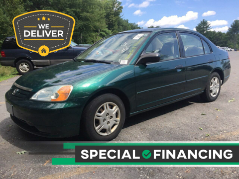 2001 Honda Civic for sale at Twin Motor Sport in Worcester MA