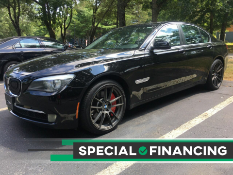 2012 BMW 7 Series for sale at Twin Motor Sport in Worcester MA