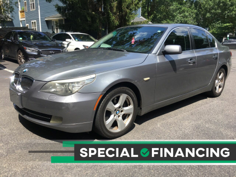 2008 BMW 5 Series for sale at Twin Motor Sport in Worcester MA