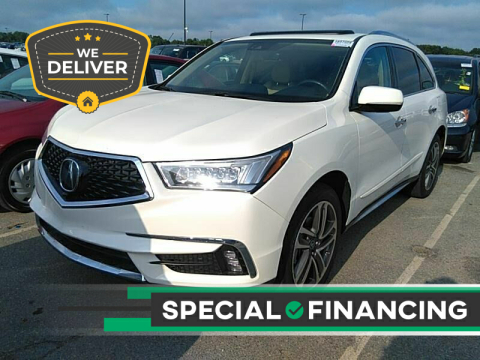 2017 Acura MDX for sale at Twin Motor Sport in Worcester MA