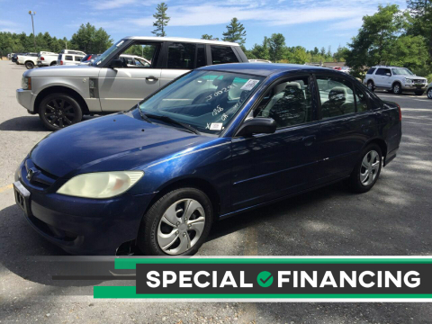 2005 Honda Civic for sale at Twin Motor Sport in Worcester MA