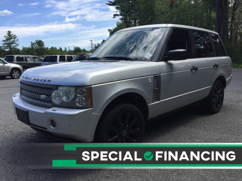 2006 Land Rover Range Rover for sale at Twin Motor Sport in Worcester MA