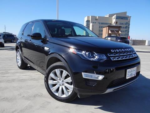2016 Land Rover Discovery Sport for sale in Fresno, CA