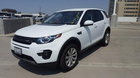 2017 Land Rover Discovery Sport for sale in Fresno, CA