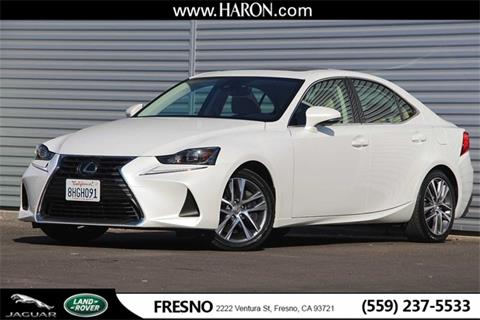 2019 Lexus IS 300 for sale in Fresno, CA
