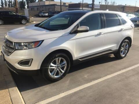 2017 Ford Edge SEL for sale at Haron Motor Sales in Fresno CA