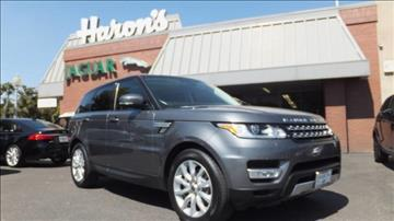 2014 Land Rover Range Rover Sport for sale in Fresno, CA