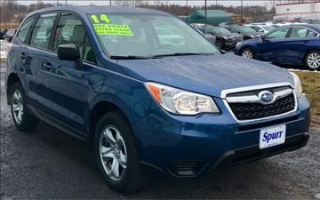2014 Subaru Forester for sale in Brockport, NY