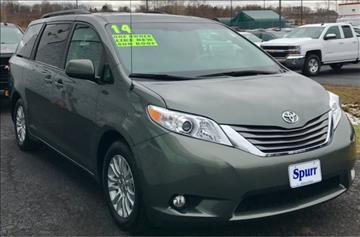 2014 Toyota Sienna for sale in Brockport, NY