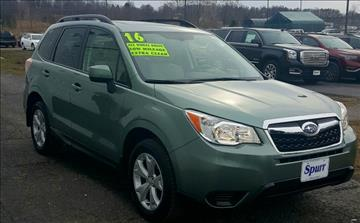 2016 Subaru Forester for sale in Brockport, NY