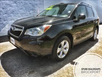2015 Subaru Forester for sale in Brockport, NY