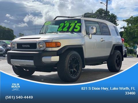 2007 Toyota FJ Cruiser for sale in Lake Worth, FL