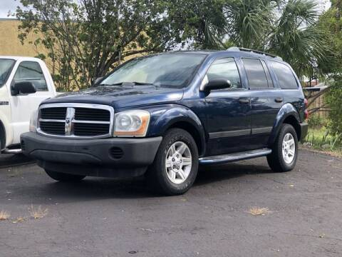 2005 Dodge Durango for sale at Palm Beach Motors in Lake Worth FL