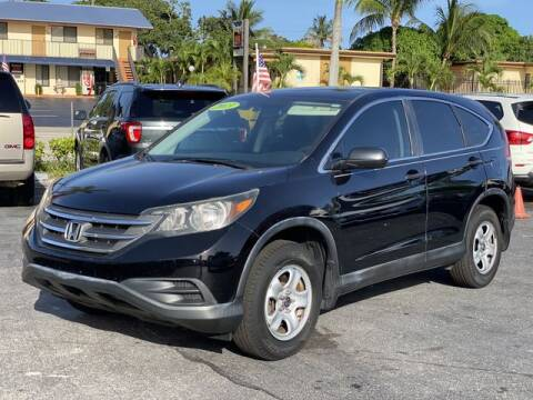 2013 Honda CR-V for sale at Palm Beach Motors in Lake Worth FL