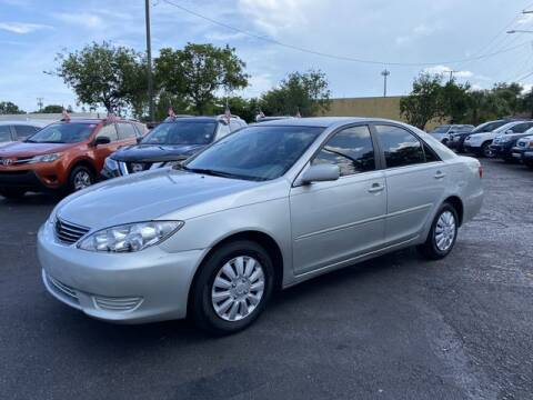 2005 Toyota Camry for sale at Palm Beach Motors in Lake Worth FL
