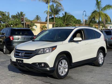2014 Honda CR-V for sale at Palm Beach Motors in Lake Worth FL