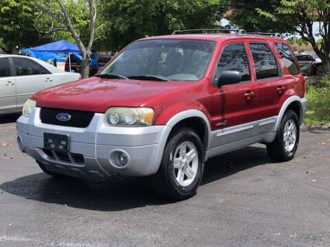 2006 Ford Escape Hybrid for sale at Palm Beach Motors in Lake Worth FL