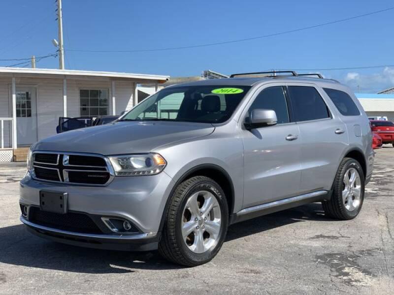 2014 Dodge Durango for sale at Palm Beach Motors in Lake Worth FL