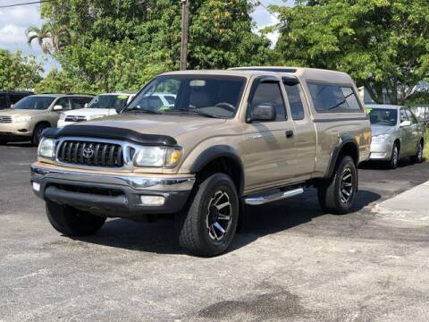 2002 Toyota Tacoma for sale at Palm Beach Motors in Lake Worth FL