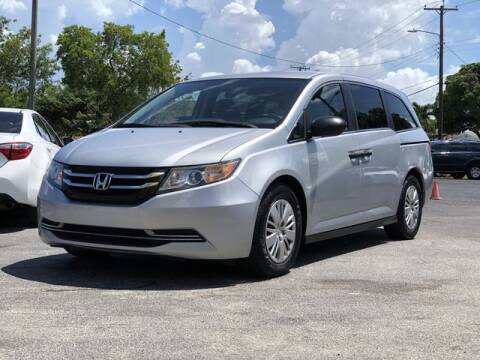 2015 Honda Odyssey for sale at Palm Beach Motors in Lake Worth FL