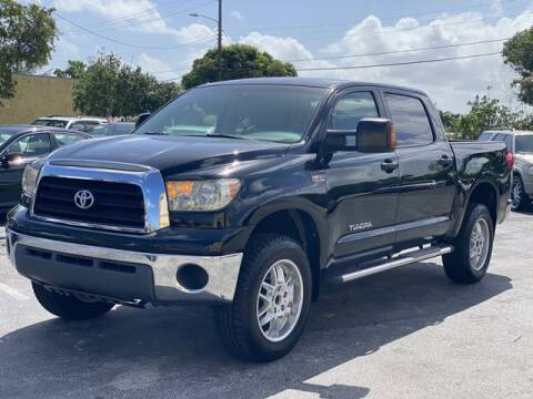 2007 Toyota Tundra for sale at Palm Beach Motors in Lake Worth FL