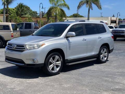 2012 Toyota Highlander for sale at Palm Beach Motors in Lake Worth FL