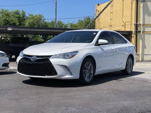 2015 Toyota Camry for sale at Palm Beach Motors in Lake Worth FL