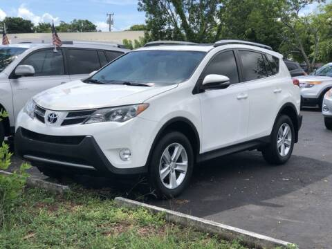 2014 Toyota RAV4 for sale at Palm Beach Motors in Lake Worth FL