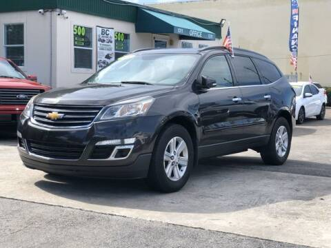 2014 Chevrolet Traverse for sale at Palm Beach Motors in Lake Worth FL