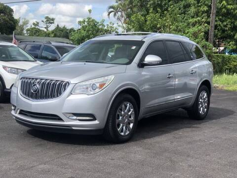 2013 Buick Enclave for sale at Palm Beach Motors in Lake Worth FL