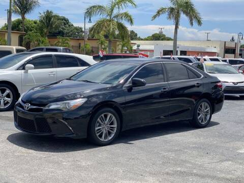 2016 Toyota Camry for sale at Palm Beach Motors in Lake Worth FL