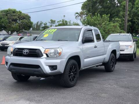 2012 Toyota Tacoma for sale at Palm Beach Motors in Lake Worth FL