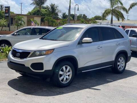 2012 Kia Sorento for sale at Palm Beach Motors in Lake Worth FL