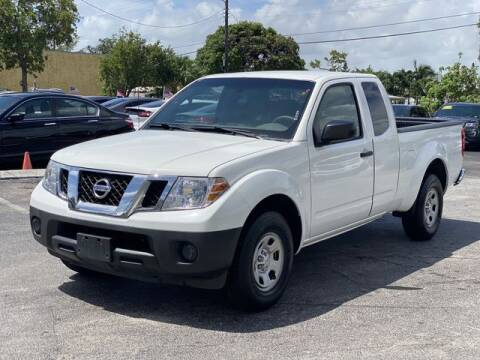 2014 Nissan Frontier for sale at Palm Beach Motors in Lake Worth FL