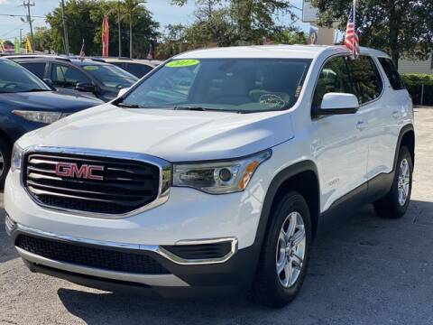 2017 GMC Acadia for sale at Palm Beach Motors in Lake Worth FL